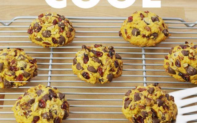 Nestle Toll House – Pumpkin Cranberry Cookies