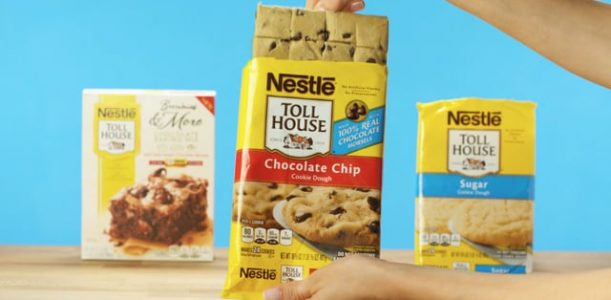 Nestle Toll House – Triple Layer Brownies