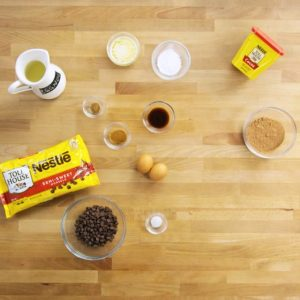 Nestle Toll House – Eggnog Waffles